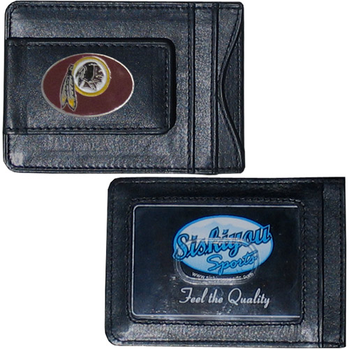 NFL - Money Clip and Cardholder,  Washington Redskins
