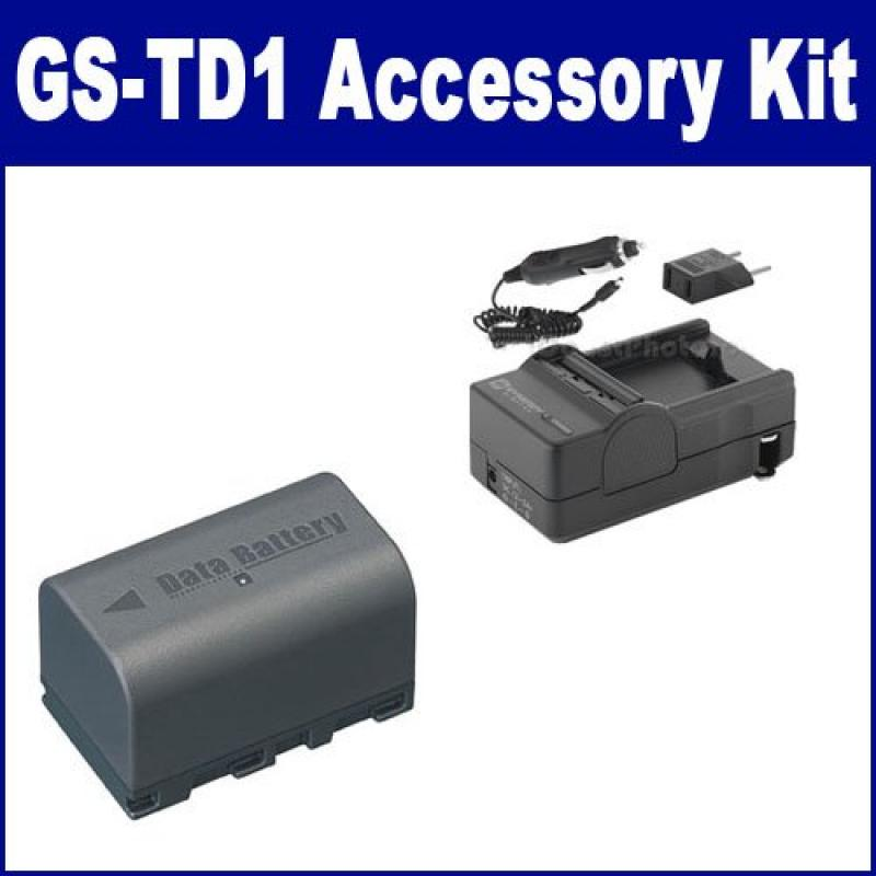 JVC GS-TD1 Camcorder Accessory Kit includes: SDM-180 Char...