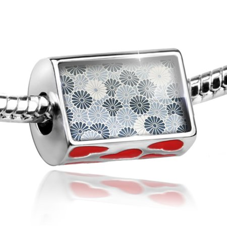 70s Fashion Jewelry (Bead 70s pattern Charm Fits All European)