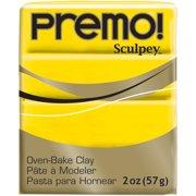 Premo Sculpey Polymer Clay 2oz-Cadmium Yellow