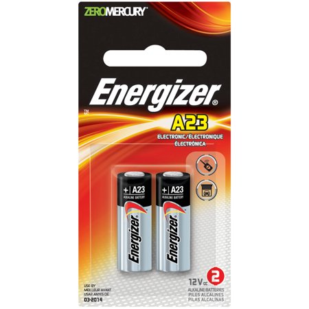 Energizer Keyless Entry 12 V Batteries A23 2 Pack Walmart