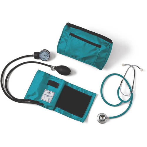 Medline Compli-Mate Dual Head Aneroid Sphygmomanometer Combo Kit