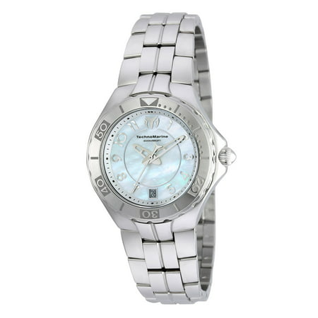 Technomarine Women's TM-715010 Sea Pearl Quartz 3 Hand Gold Dial Watch
