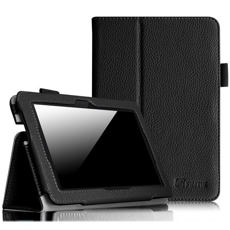 Fintie Folio Case for Kindle Fire HDX 7 - Slim Fit PU Leather Standing Cover with Auto Sleep/Wake, Black](kindle fire hdx 7 deals)