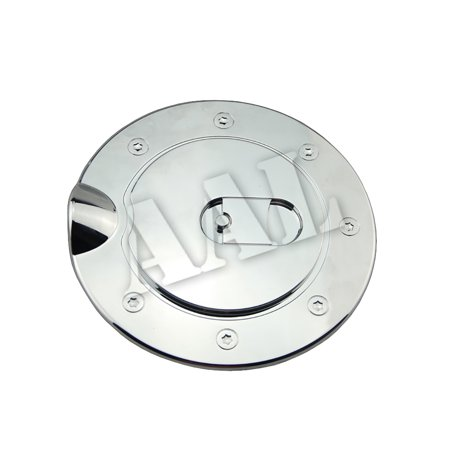 AAL Premium Gas Tank Fuel Door Cap Chrome Cover For 1997 1998 1999 2000 2001 2002 2003 Ford F150 F-150 / F-250 F250 Light Duty