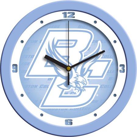 Boston College Golden Eagles NCAA Wall Clock (Blue)