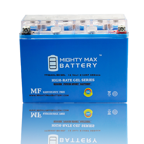 YTX24HL-BS 12V 21AH GEL Battery for Bombardier Ski-Doo All Models 1998 by Mighty Max Battery