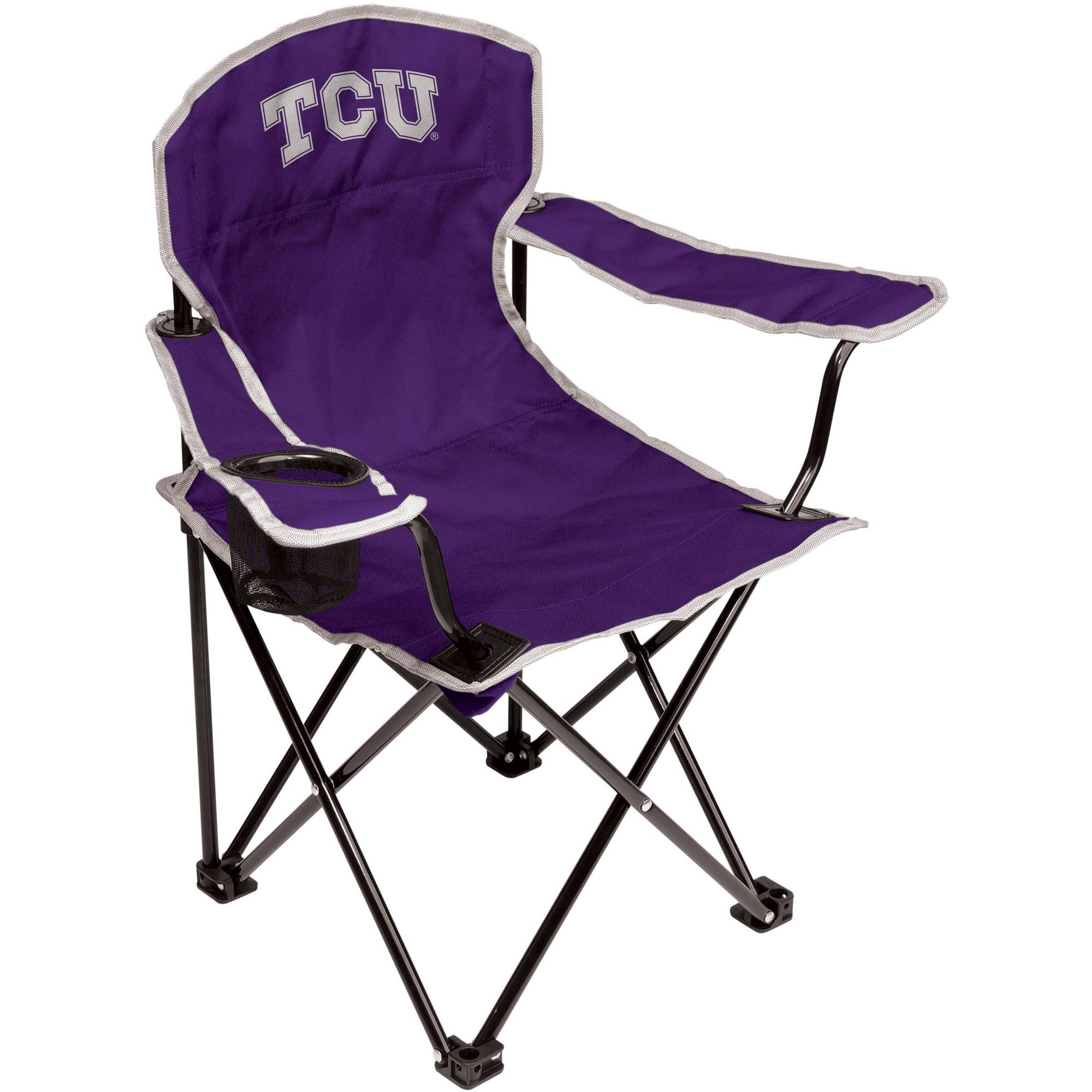 NCAA Texas Christian Horned Frogs Youth Size Tailgate Chair from Coleman by Rawlings