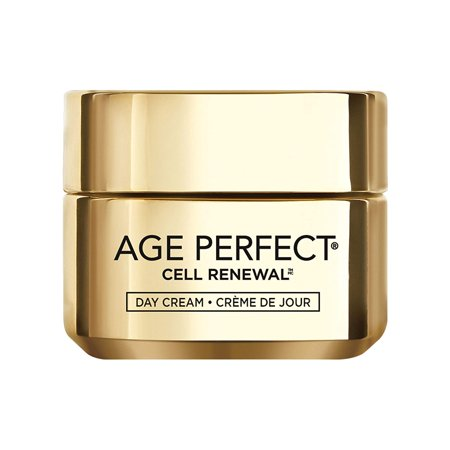 Face Moisturizer, Age Perfect Cell Renewal Skin Renewing Day Cream with SPF 15 Sunscreen with Salicylic Acid to Stimulate Surface Cell Turnover for Visibly Radiant & Vibrant Skin, 1.7 oz