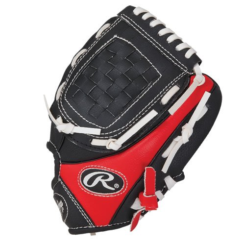 Rawlings PL91SB120 9-Inch Player Youth T-Ball Web Pattern Training Glove (Right Hand Throw)