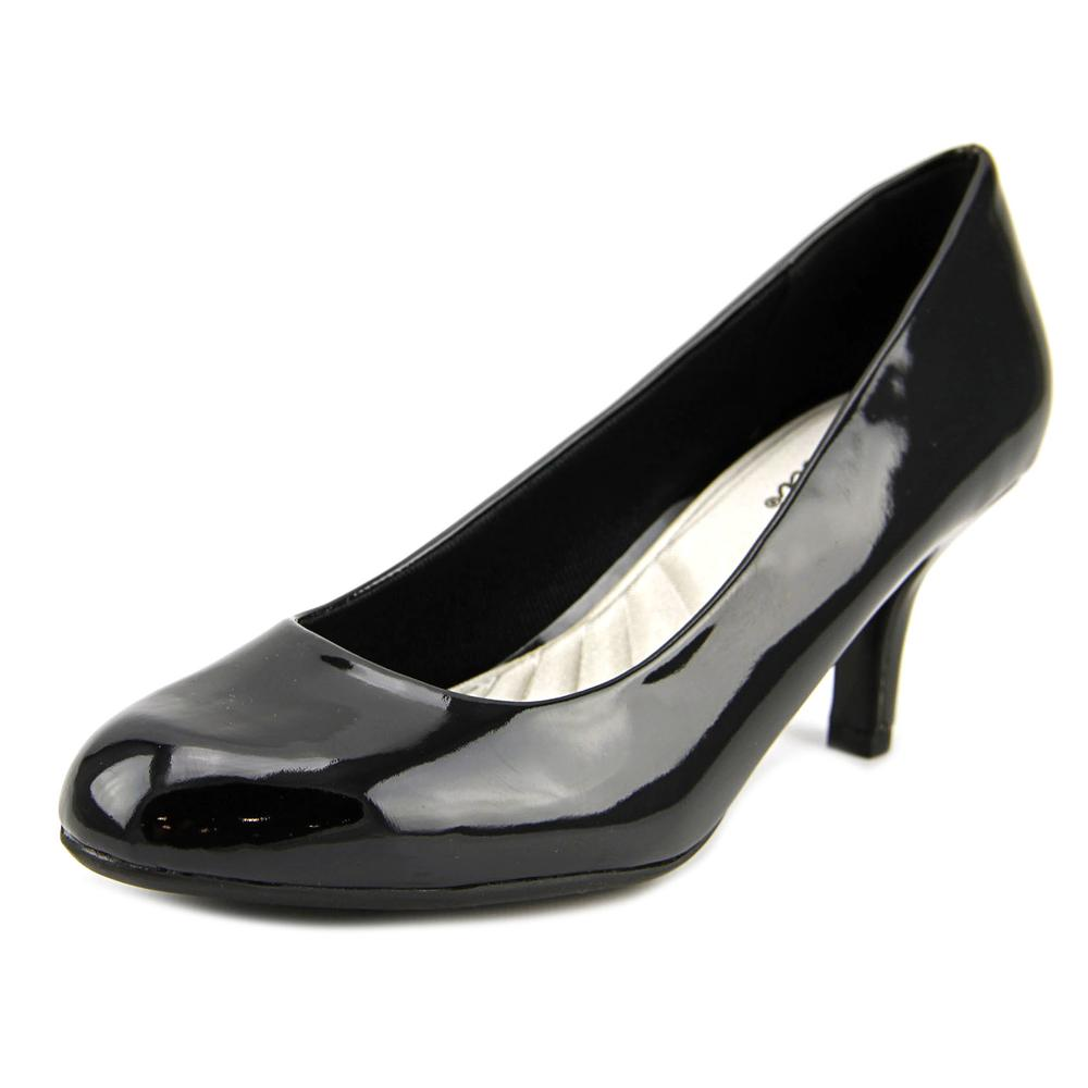 Easy Street Passion Women Round Toe Synthetic Black Heels by Easy Street