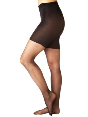 f7daa7cb525bd Product Image Spanx NEW Black All Day Shaping Women s Size C Sheer Shapewear  Pantyhouse  4591