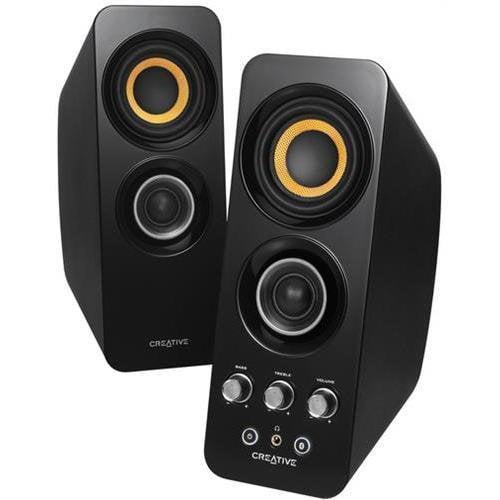 Creative 51MF1655AA001 Bluetooth Wireless 2.0 Speakers Black Retail (Creative Labs 51MF1655AA001) by Creative Labs