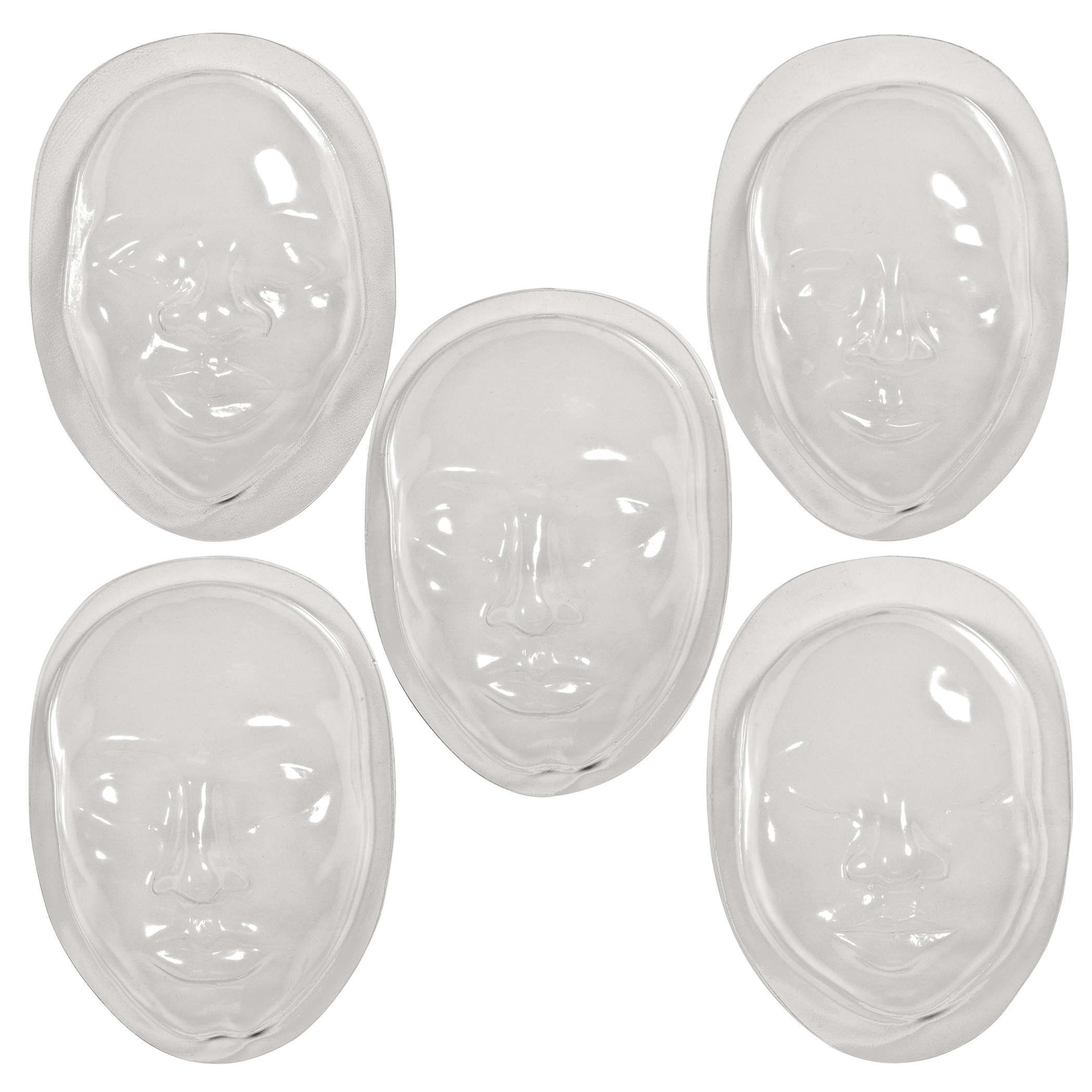 Roylco® Face Form, Pack of 10