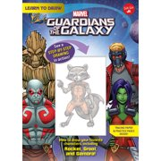 Learn to Draw Marvel Guardians of the Galaxy : How to draw your favorite characters, including Rocket, Groot, and Gamora!