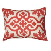 """Rizzy Home Comforter Set 106"""" X 92"""" in Coral Color"""