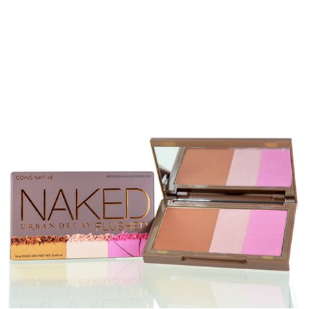 URBAN DECAY  NAKED FLUSHED COLOR PALETTE - GOING NATIVE 0.49 OZ Makeup Face