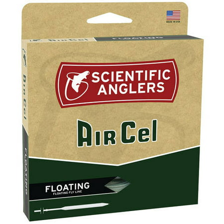 Scientific Anglers Air Cel Floating Fly Line, WF, F,