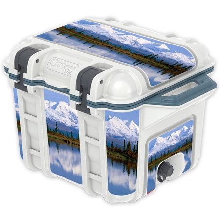 Skin Decal Wrap For Otterbox Venture 25 Qt Cooler Sticker Mountains