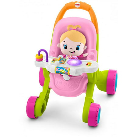 - Fisher-Price Stroll 'n Learn Walker Gift Set with Laugh & Learn Doll