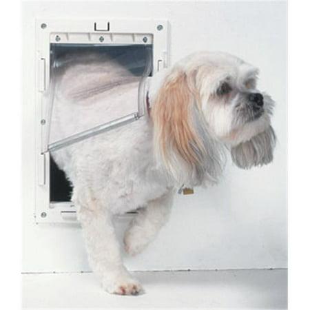 Ideal PPDM Ideal Pet Door Original White Medium - Walmart com