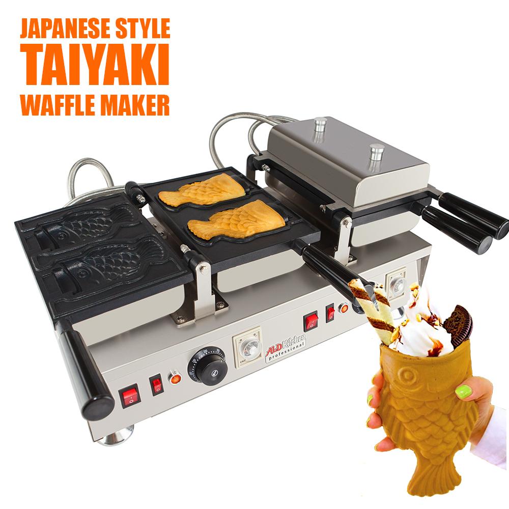 Taiyaki Fish Waffle Maker 110V