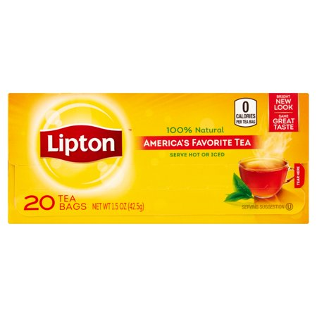 Lipton America's Favorite Tea Black Tea Bags 20 ct
