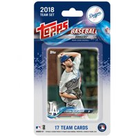 Los Angeles Dodgers 2018 Team Set Trading Cards - No Size