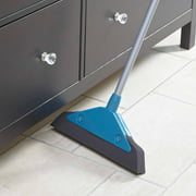 Leifheit Wide Foam Broom, Turquoise by LEIFHEIT
