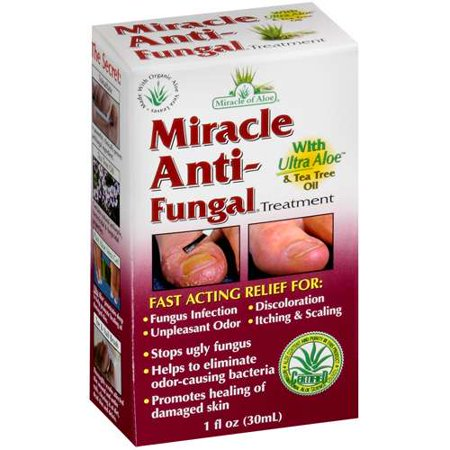 Miracle of Aloe: Anti-Fungal Treatment Foot Skin Care, 1 fl oz