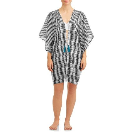 Eliza May Rose Women S Tie Front Swim Suit Cover Up