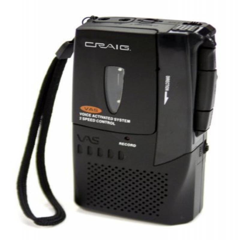 Craig Electronics Craig Micro Cassette Voice Recorder wit...