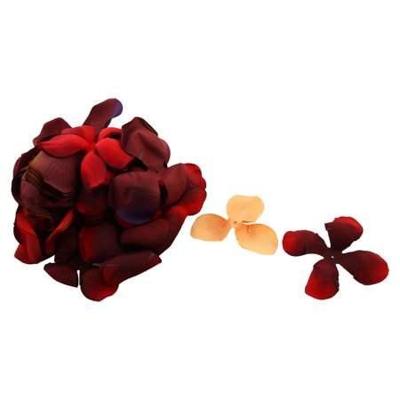 Wedding Party Bridal Table Flower Petal Decorations Yellow Brick Red 250 in 1
