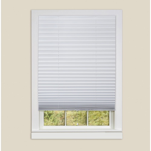 Sweet Home Collection 1-2-3 Room Darkening Temporary Pleated Shade