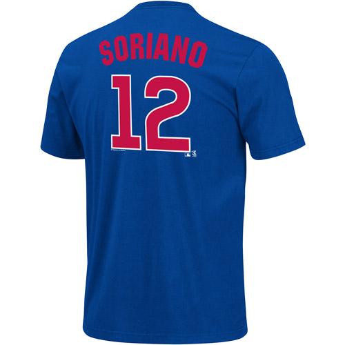 MLB Men's Chicago Cubs Alfonso Soriano Short-Sleeve Player Tee