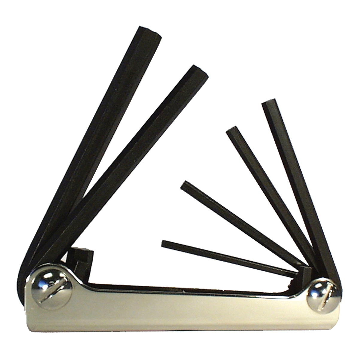 5Pc. Metric Fold-Up Hex Key Set