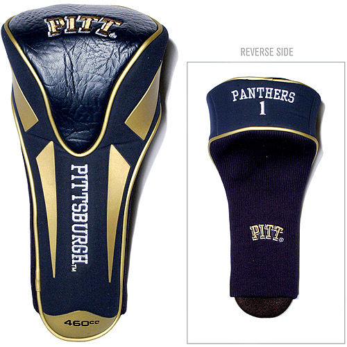 Team Golf NCAA Pittsburgh Single Apex Driver Head Cover