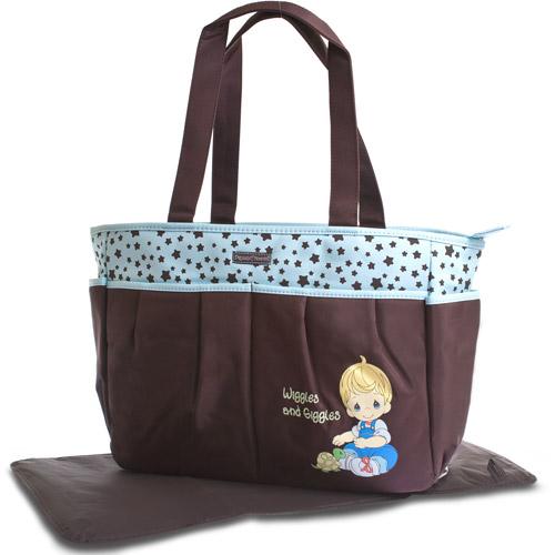 Precious Moments - Diaper Bag, Blue