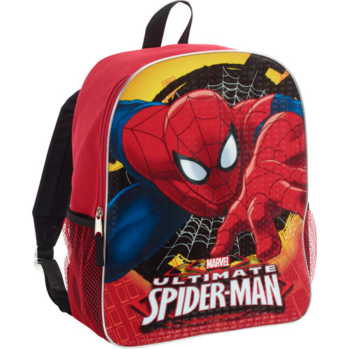 "Spiderman 16"" backpack"