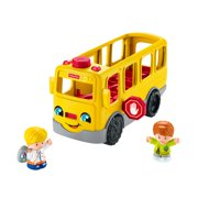 Little People Sit With Me School Bus with Lights, Sounds & Songs Bus Play Vehicle