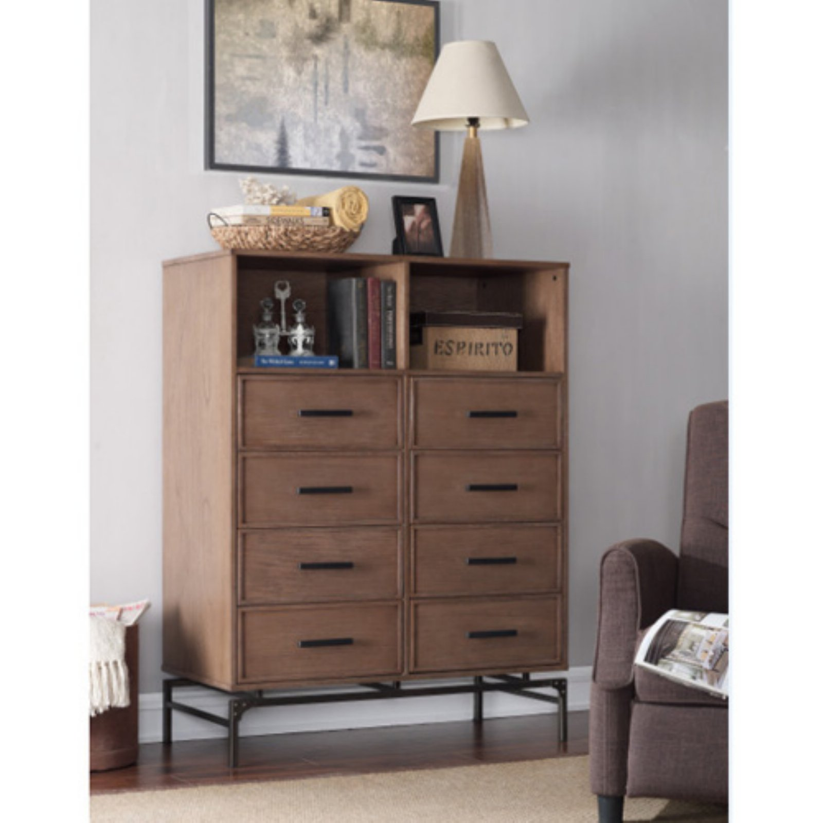 Runfine Desa 8 Drawer Dresser