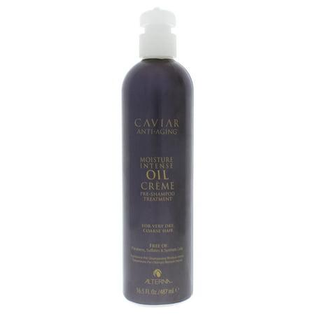 Alterna Caviar Anti-Aging Moisture Intense Oil Creme Pre-Shampoo Treatment - 16.5 oz Treatment Caviar Anti Aging Moisture Shampoo