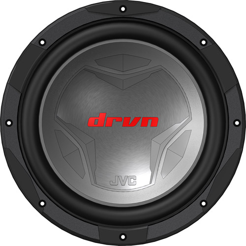 "JVC Mobile CS-GD1210 12"" Dual Voice Coil Subwoofer Unit with 1400W Max Power Handling"