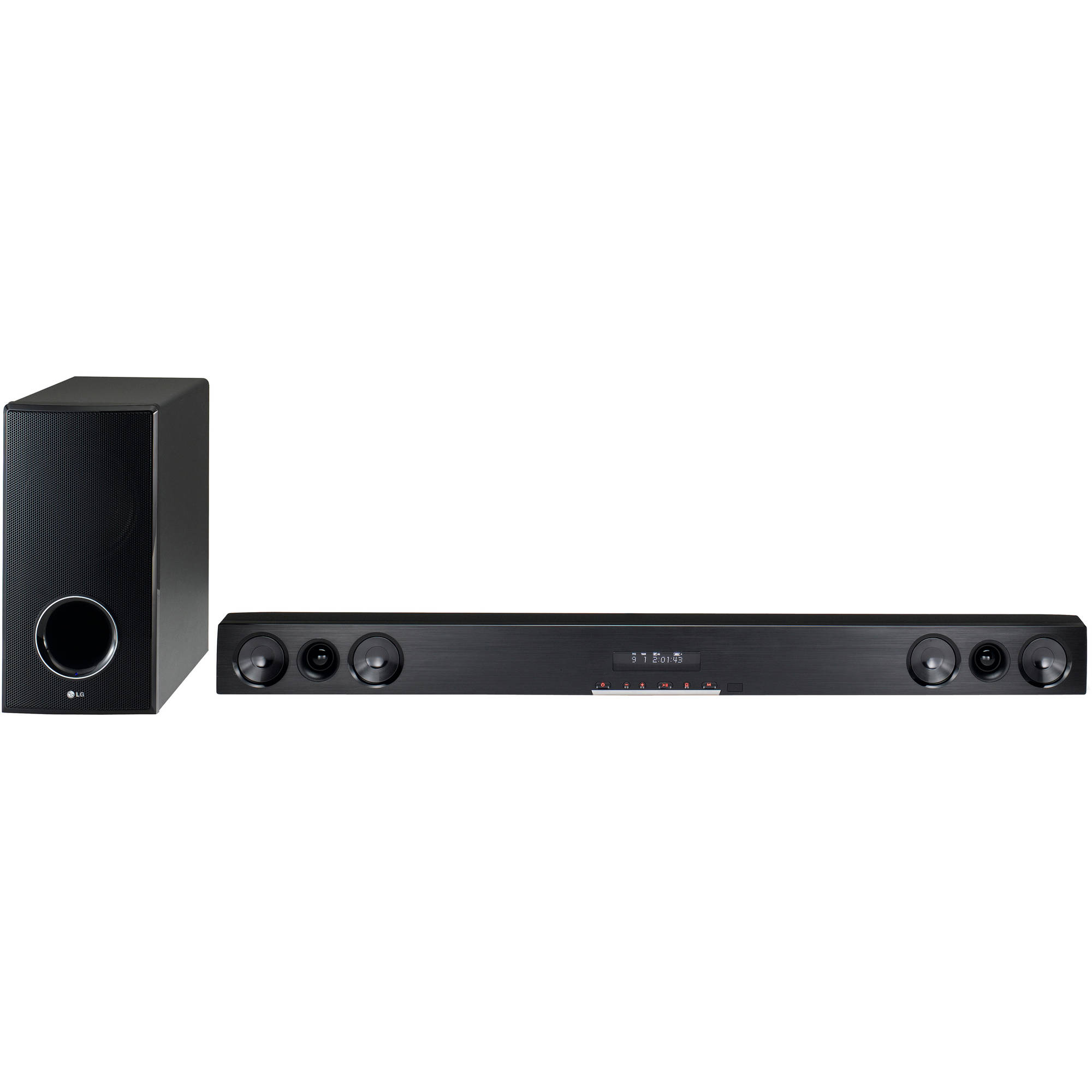 Lg Lsb316 280w Sound Bar With Wireless Subwoofer And Bluetooth