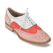 Wanted Shoes Women's Babe Oxford, Pink/Multi