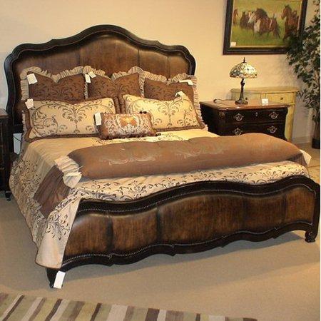 Eastern legends chambord king upholstered panel bed for Eastern legends bedroom furniture