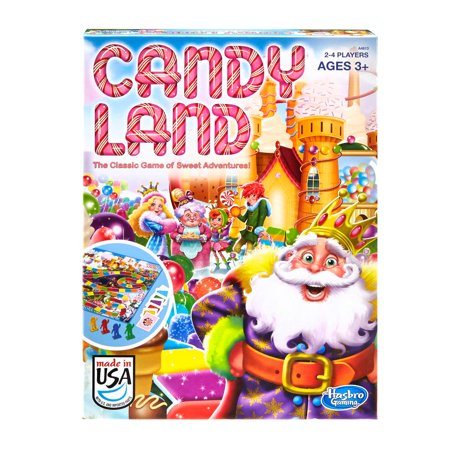 Hasbro Candy Land Board Game (Pack of 6) - Candyland Gameboard