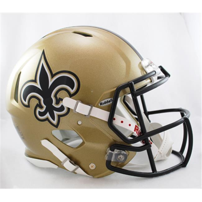 Victory Collectibles 3001643 Rfa New Orleans Saints Full Size Authentic Speed Helmet
