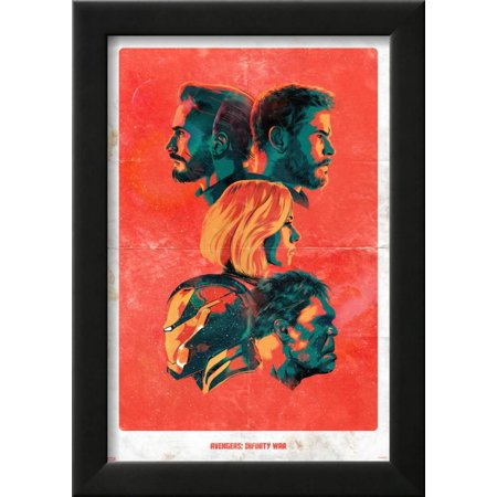 Avengers: Infinity War - Avengers Profiles Framed Print Wall Art ...