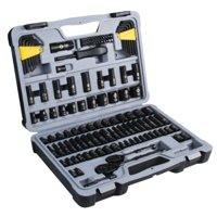 STANLEY STMT72254W 123-Piece Mechanics Tool Set, Black Chrome